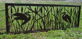 Декоративные оградки